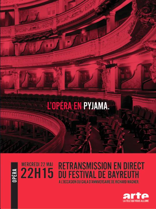 Arte- Retransmission du festival de Bayreuth