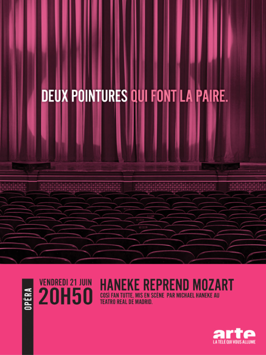 Arte - Hanneke reprend Mozart