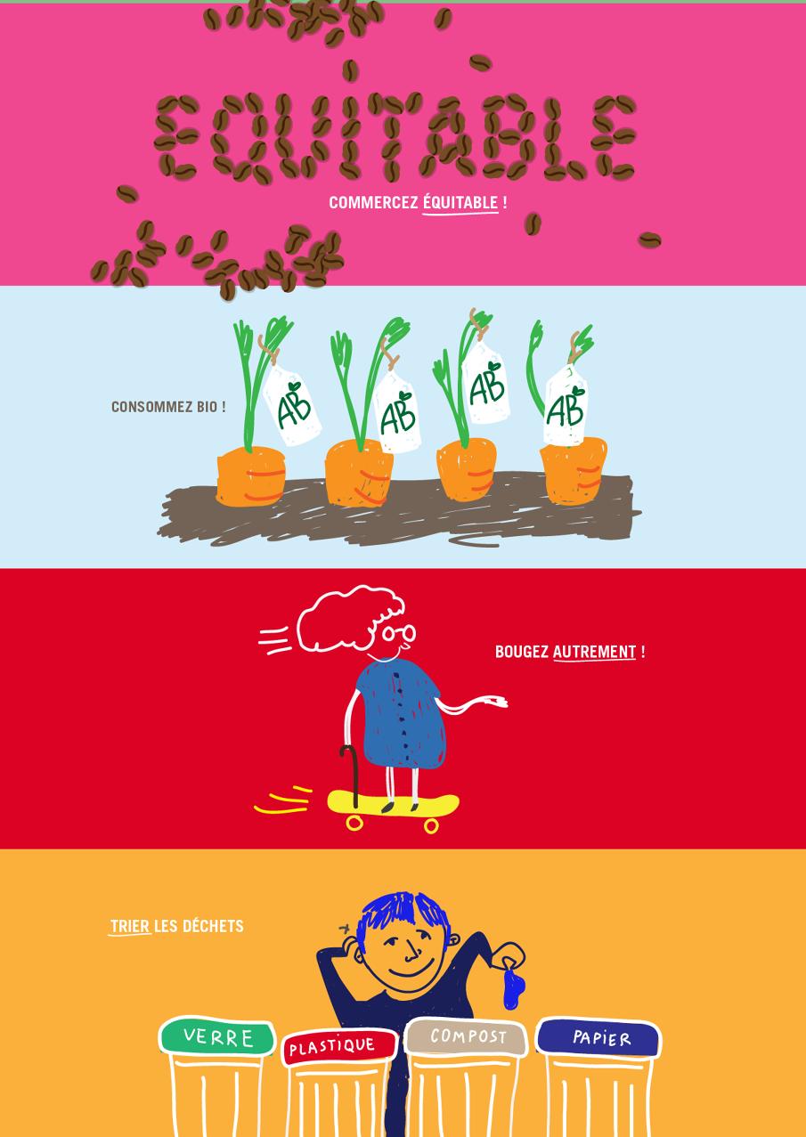 création d'illustrations pour des twitpics