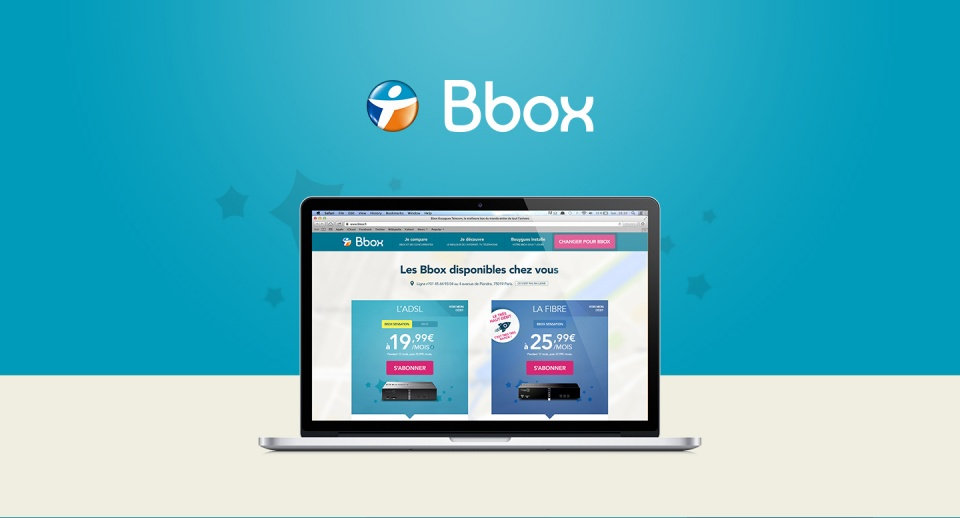 Nouveau site Bbox