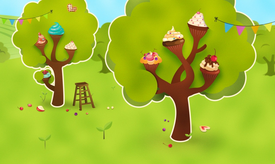 Cupcakes field