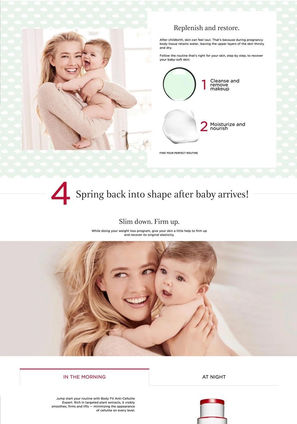 Maternity desktop