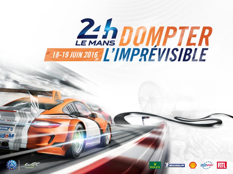 Keyvisual 24h du Mans 2016