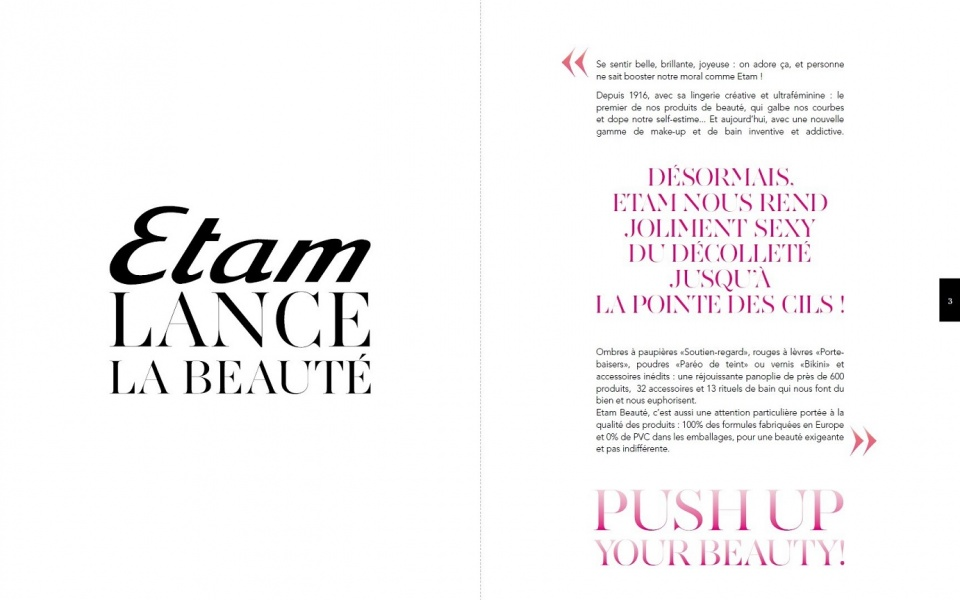Dossier de presse Push up your beauty