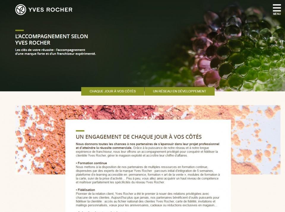 Yves Rocher - site franchisés