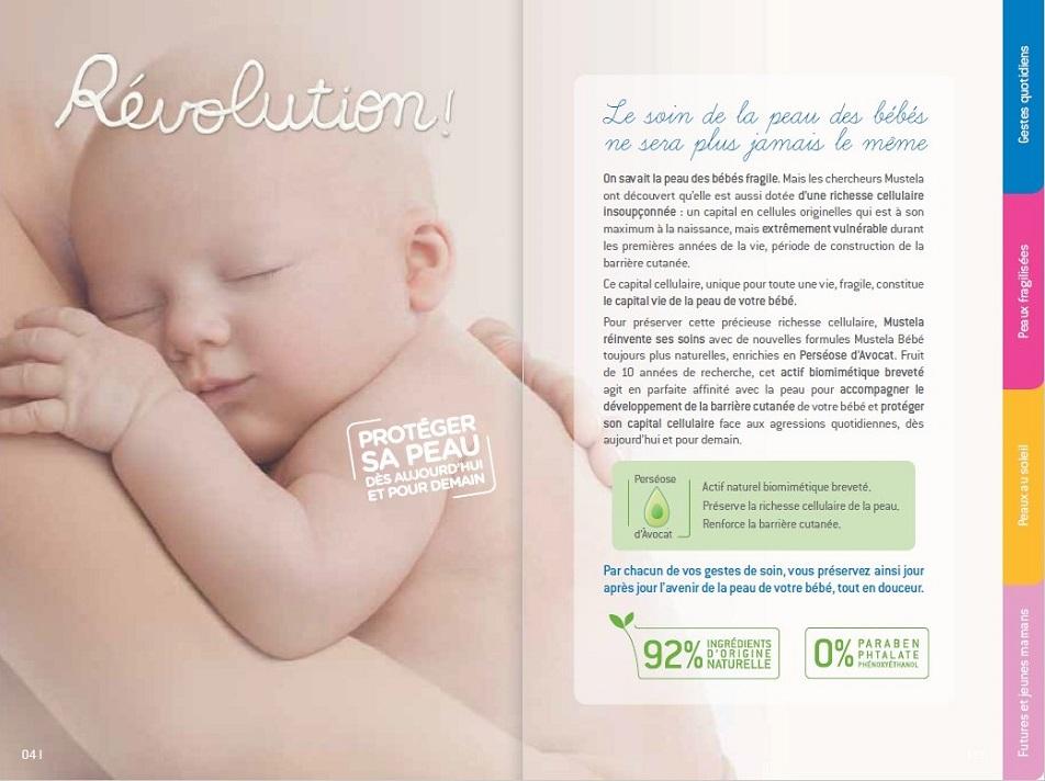 Mustela - brochure de marque