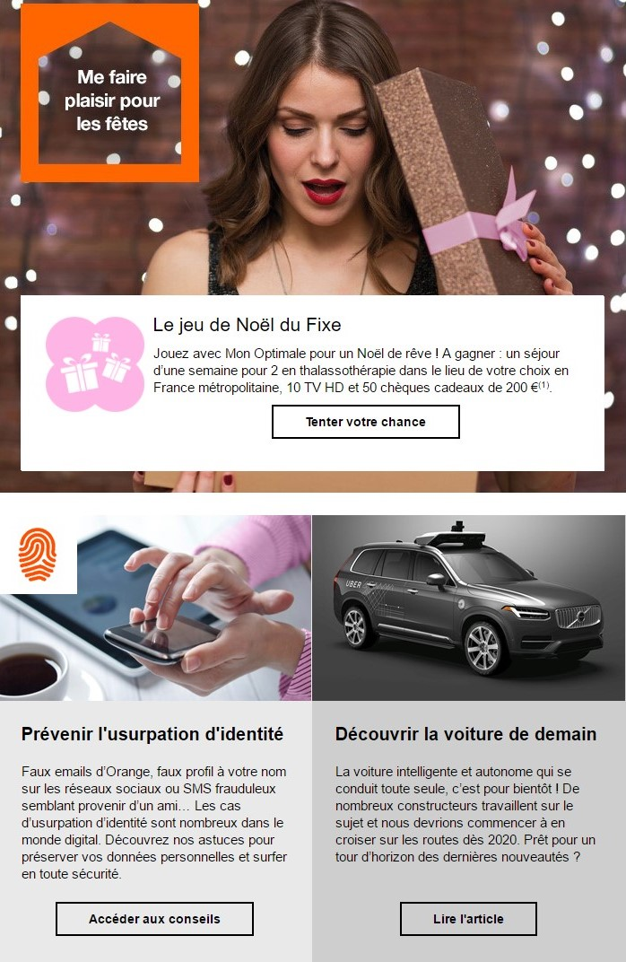 Orange - newsletter