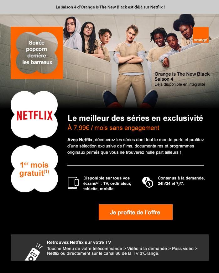 Orange - email