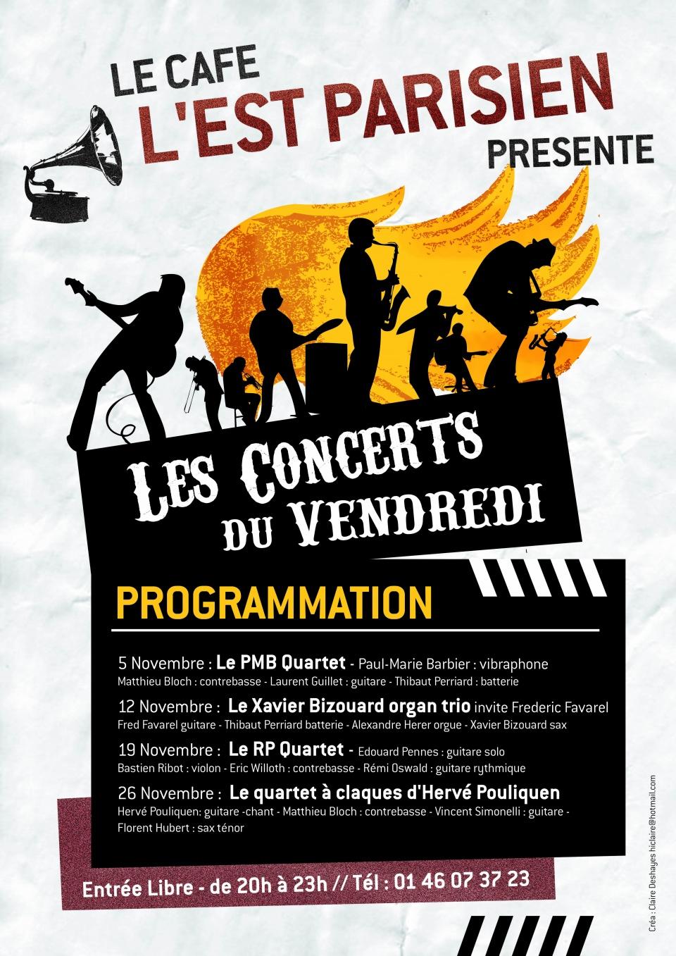 Affiche A3 Est Parisien