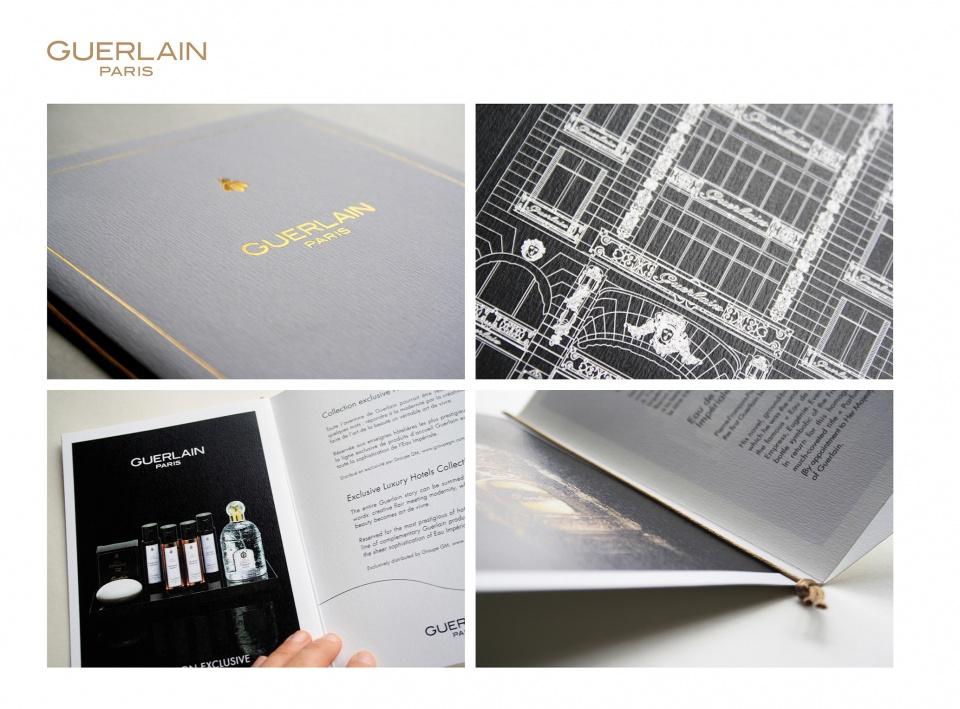 Livret support de vente Guerlain