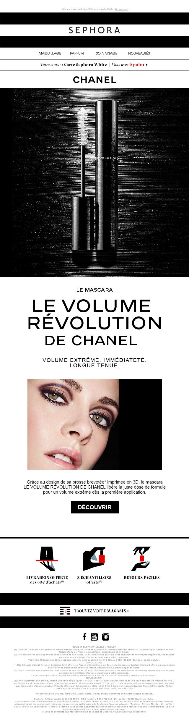 Newsletter Chanel