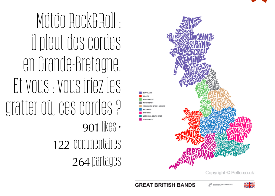 Pour la carte Rock & British