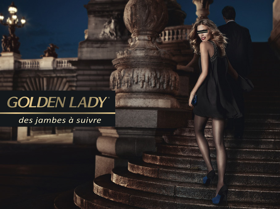 "Outdoor Golden Lady ""Nuit"""