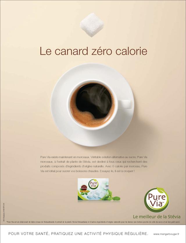 Campagne presse Pure Via
