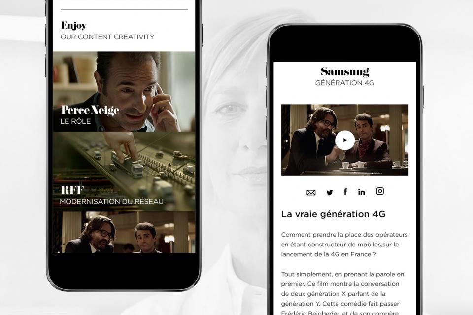 Pages travaux et détail travaux Mobile