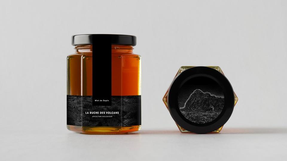 Packaging pot de miel