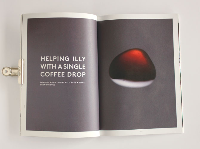 Triennale de milano pour la marque de café Illy
