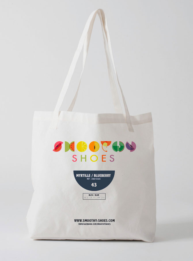 Tote bag Smoothy Shoes