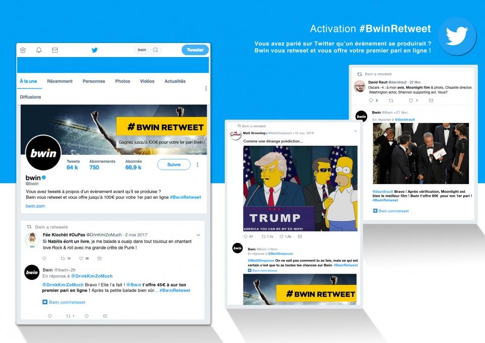 Activation Twitter