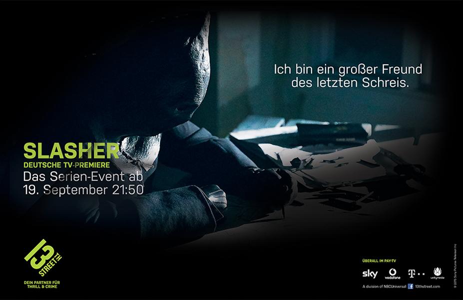 Campagne Print de la série Slasher