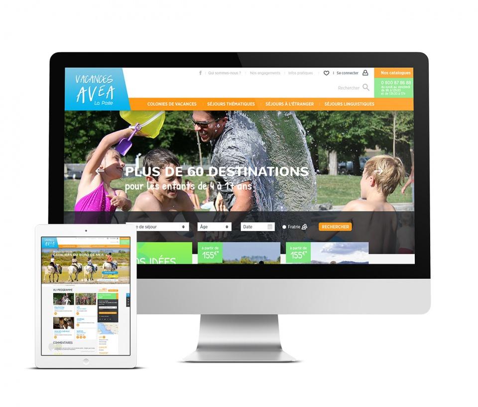Site de réservation de séjours vacances en ligne