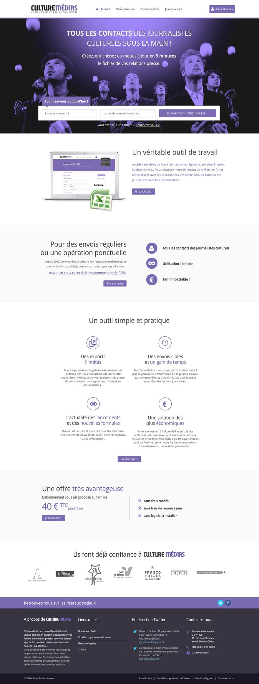Culture Médias : annuaire de contacts journalistes en ligne