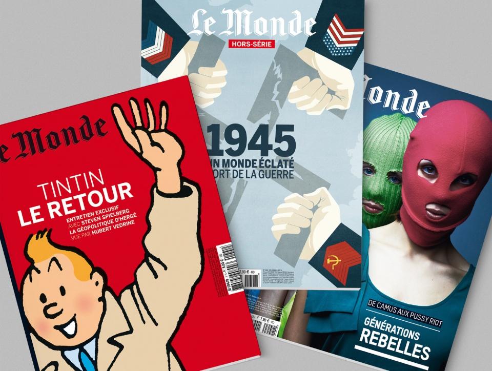 Le Monde couvertures Hors-Séries