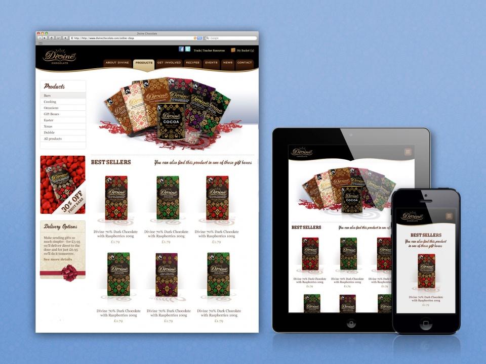 Divine Chocolate Hub Page