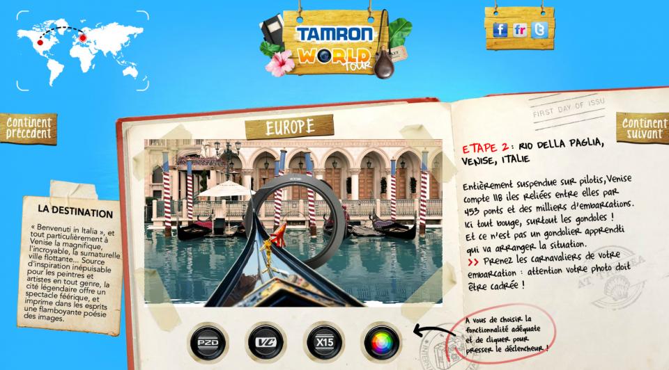 Tamron World Tour 2 - Venise