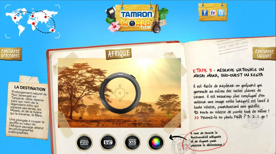 Tamron World Tour 4 - Tanzanie