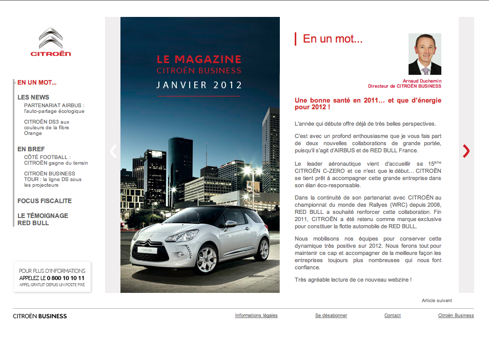 Citroën Business Mag 1