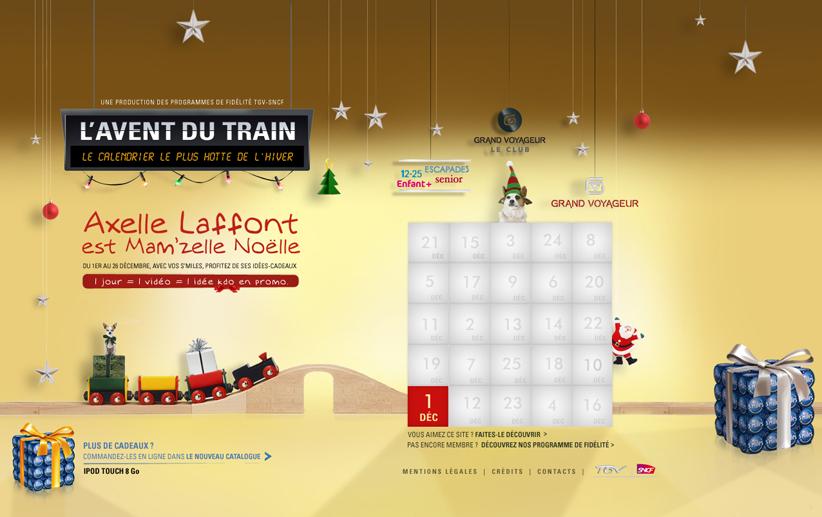 L'Avent du train 1
