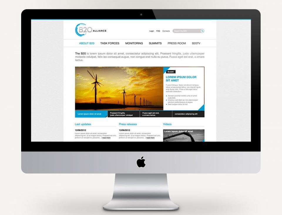 Homepage générique