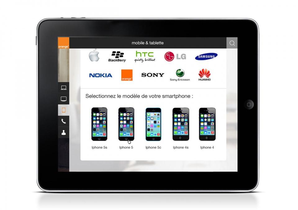 Choix modèle smartphone