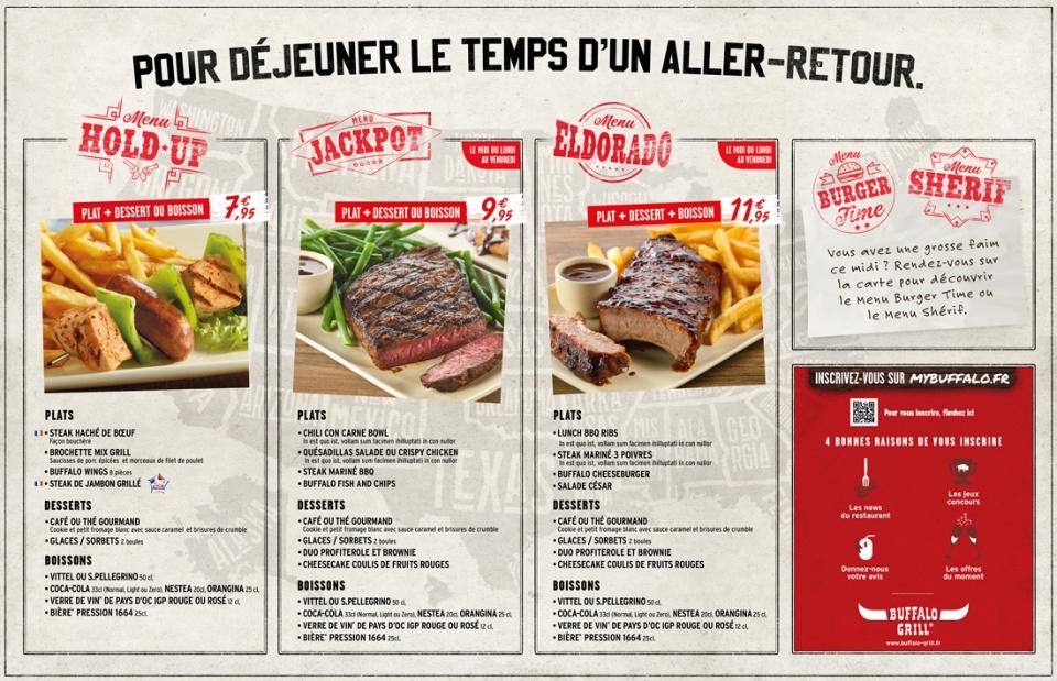 Carte Menu Buffalo Grill.Portfolio De Gaelle V