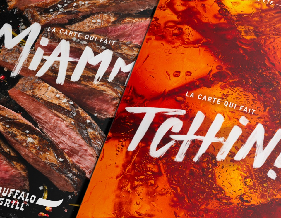 Carte menus et carte boissons