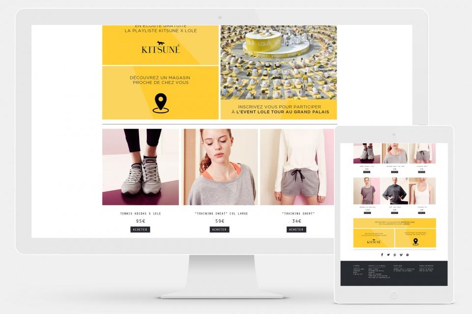 Webdesign Lole