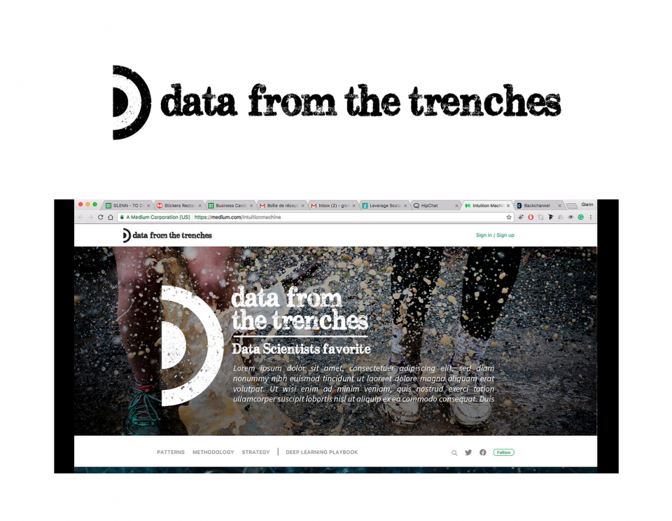 Data from the Trenches - Logo