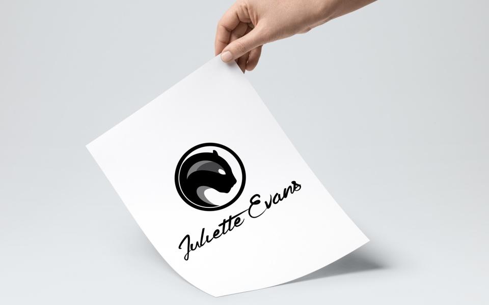 Logotype - Juliette Evans Illusionniste