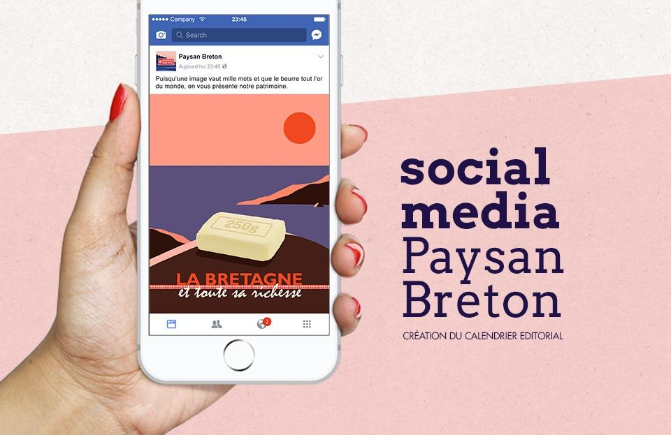 Calendrier Editoriale Paysans Breton