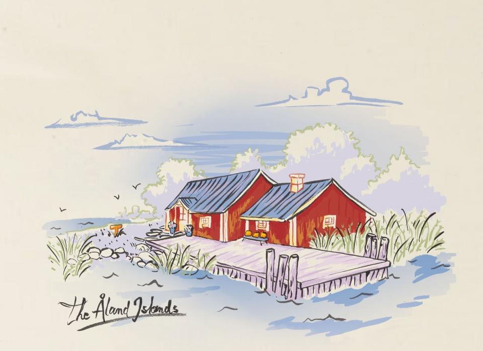 """Åland"" - Veuve Cliquot (LVMH)"