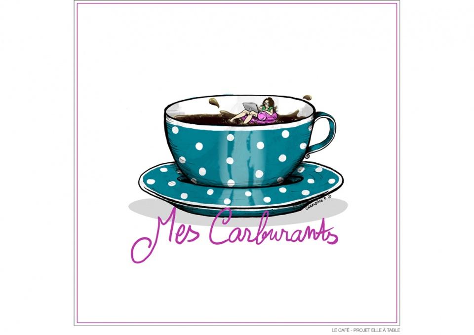 Le café - Projet ELLE À TABLE