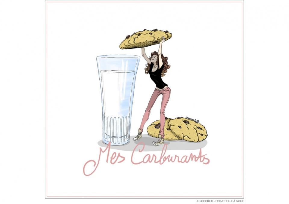 Les Cookies - Projet ELLE À TABLE