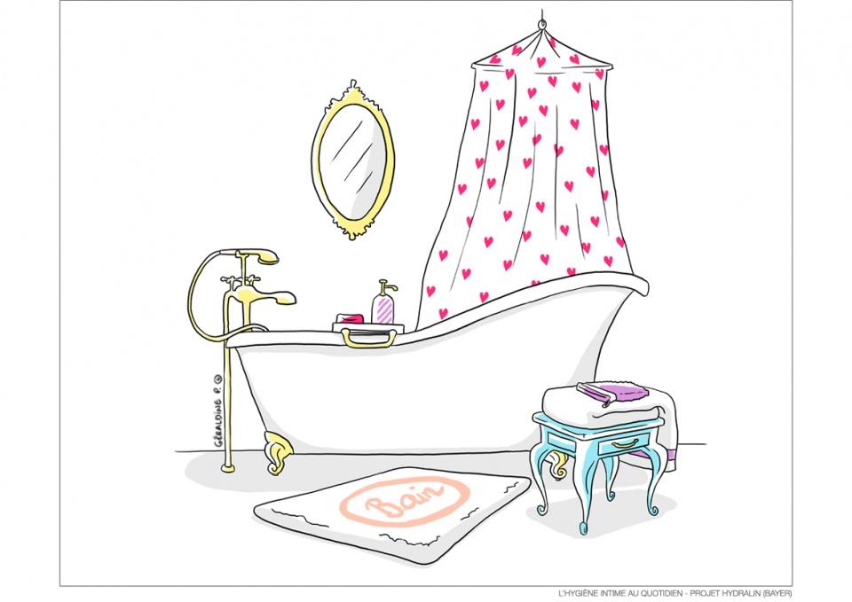 L'hygiène intime au quotidien - Projet Hydralin (BAYER)