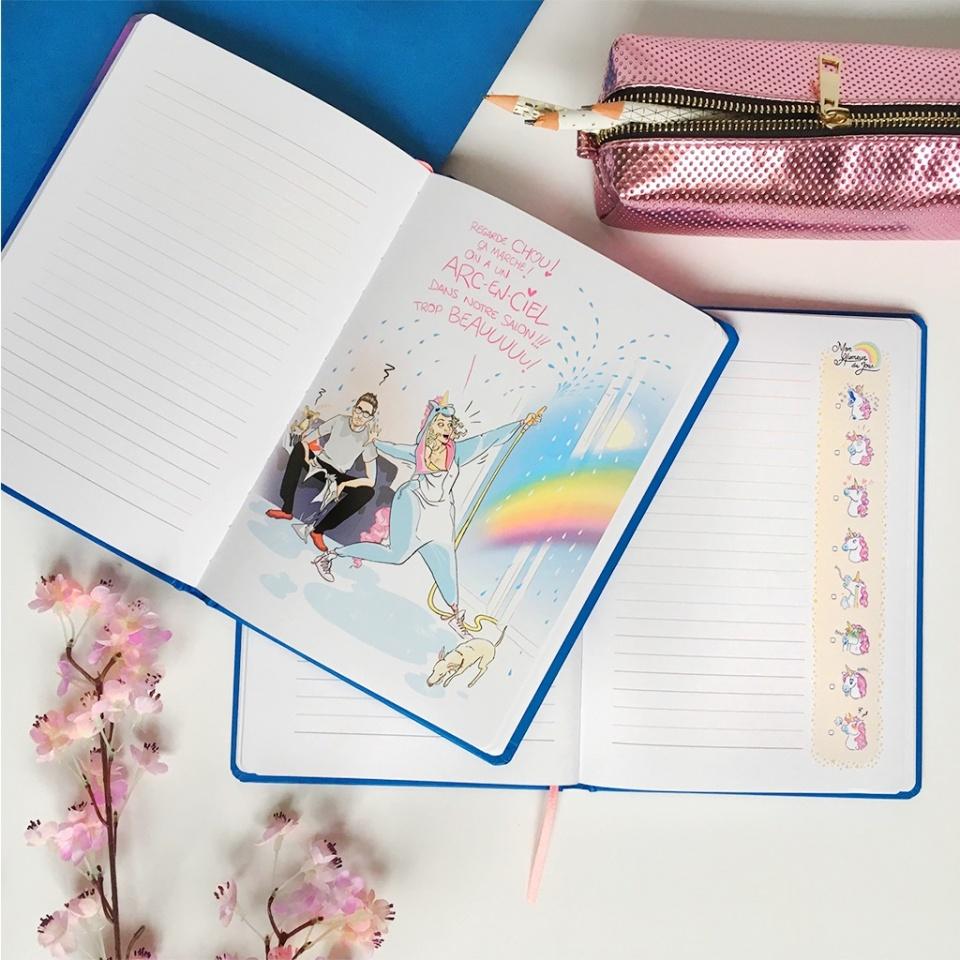"""""""L'Arc-En-Ciel"""" - Notebook d'une (Presque) Licorne"""