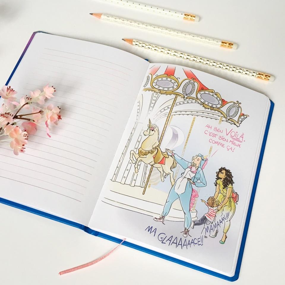 """""""Le Manège"""" - Notebook d'une (Presque) Licorne"""