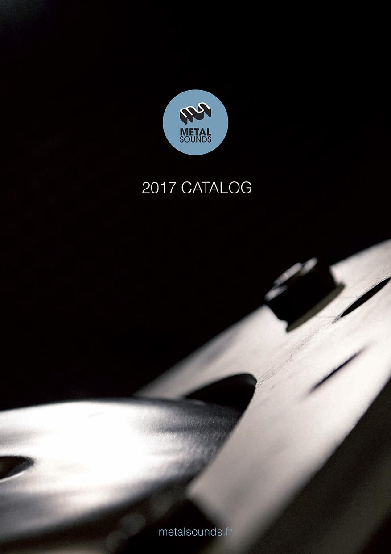 Catalogue : 1ère de couverture