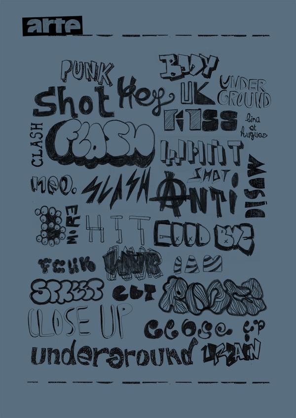 Affiche Typo - Handdraw Type