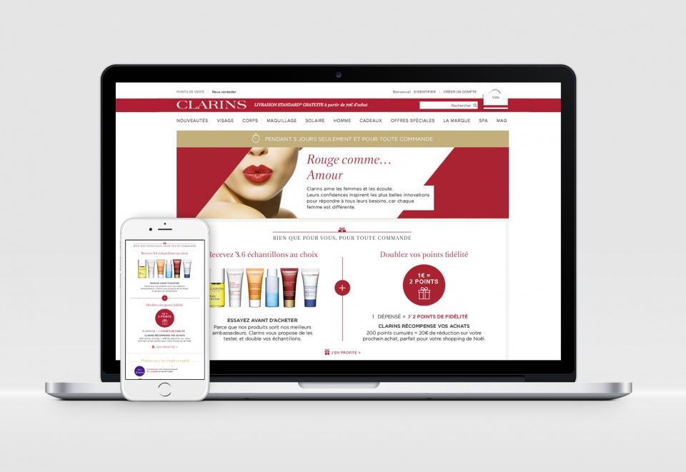 Page web et mobile, offre spéciale