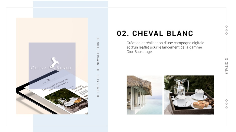 Cheval blanc 1